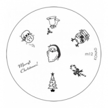 Matrita Metalica Pentru Stampile Unghii Konad M12