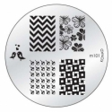 Matrita Metalica Pentru Stampile Unghii Konad M101