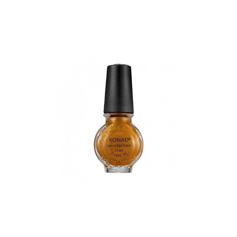 Oja Stampila Konad 11 Ml Gold Brown S12