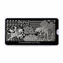 Matrita Metalica Pentru Stampile Unghii Lila Rossa - Romantic Collection 0101