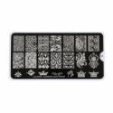 Matrita Metalica Pentru Stampile Unghii Lila Rossa - Glamour Collection 0307