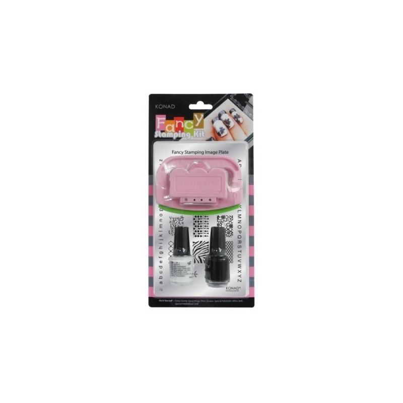 Kit Unghii Nail Art Konad Fancy Iii
