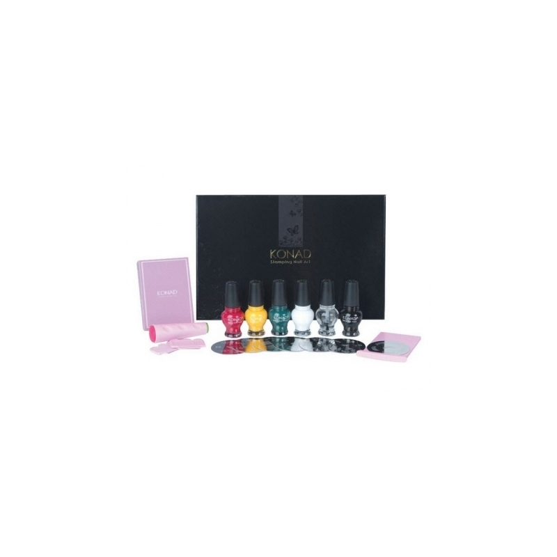 Kit Unghii Nail Art Konad Classic Collection Ii