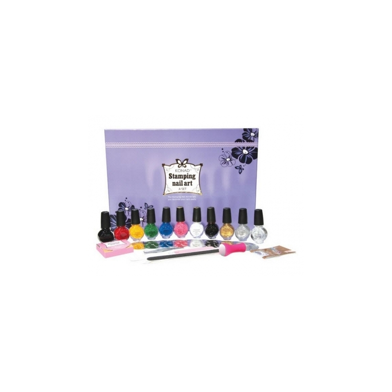 Kit Unghii Nail Art Konad Set A