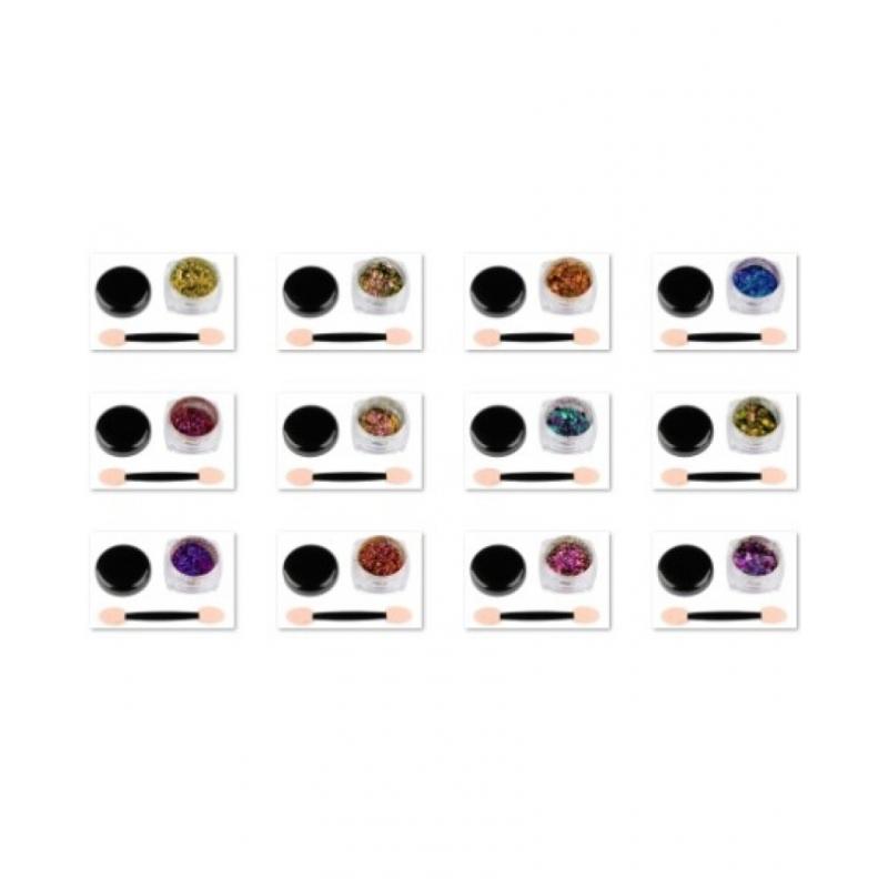 Pigment Pudra Unghii cu Efect de Oglinda Cameleon G511-bc8016