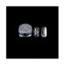 Pudra Unghii cu Efect de Oglinda Platinum G518-sv
