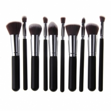 Set 10 Pensule Make-up Nylon Diverse Culori