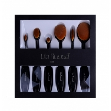Pensule Make-up Lila Rossa Tip Perie Set 6