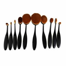 Pensule Make-up Tip Perie Set 10