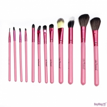 Pensule Make-up Set 12 Lila Rossa