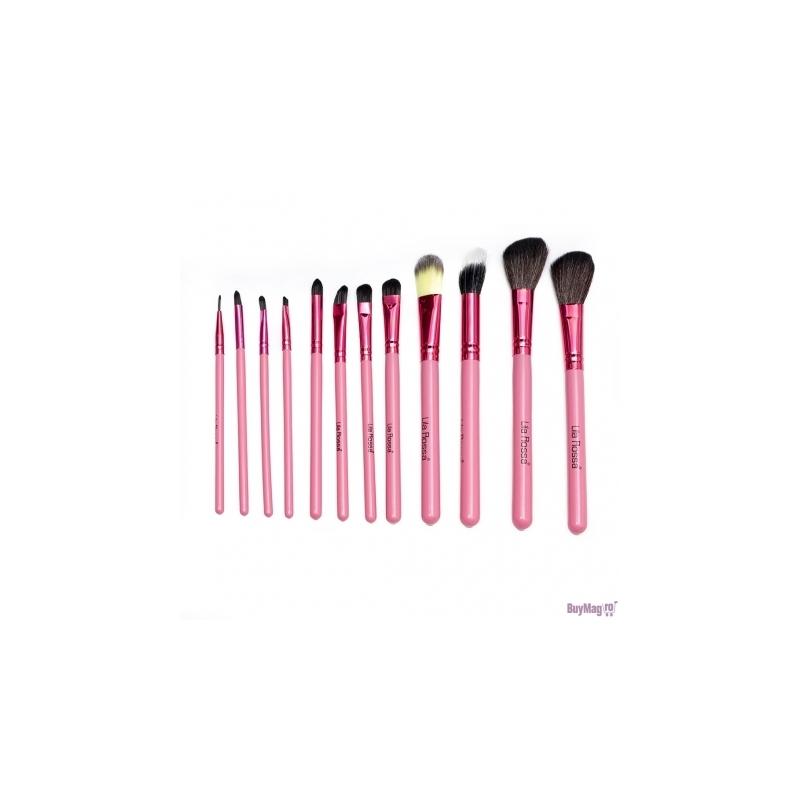 Pensule Make-up Set 12 Lila Rossa