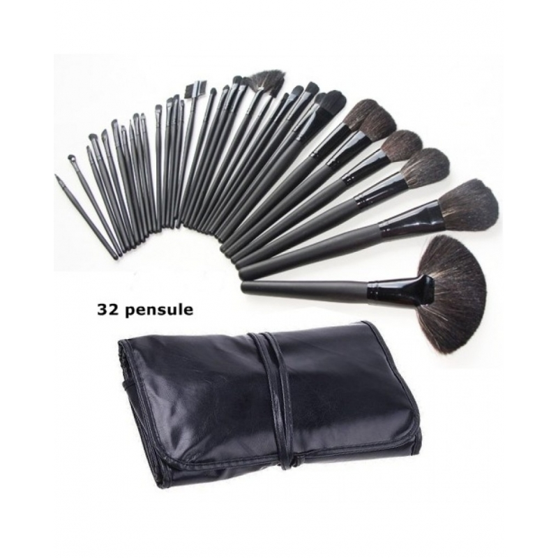 Pensule Make Up Set 32 Megaga, 4pack