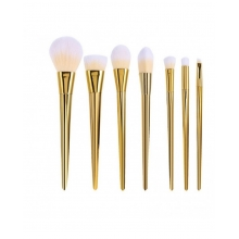 Pensule Make Up Set 7 Maner Gold