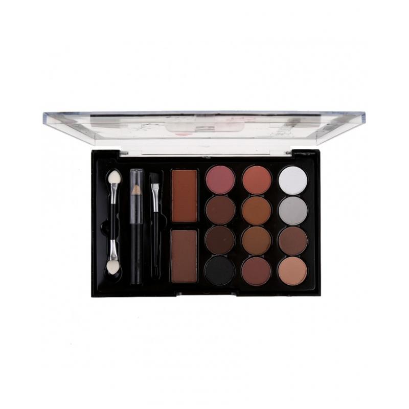 Fard Make Up 12+2 Culori +2 creioane + Aplicator CE007