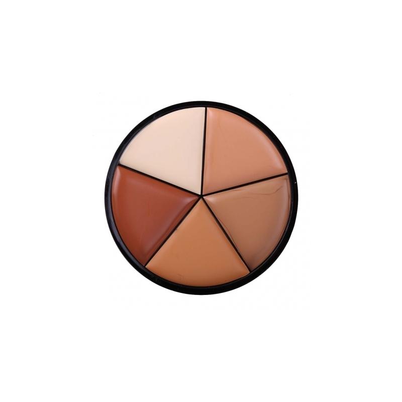 Trusa Make-up Fond de Ten 5 Culori 02