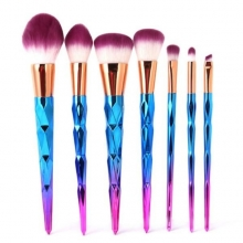 Pensule Make Up Set 7 cu Husa, Maner Cameleon