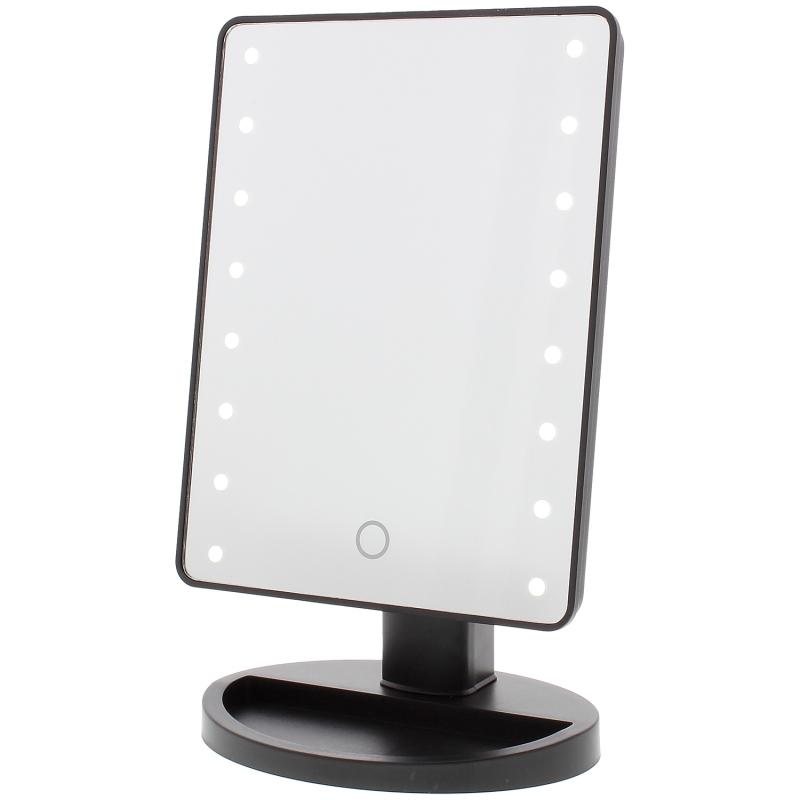 Oglinda Make UP cu Lupa Cosmetica si Lumina LED - Touch Screen