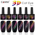 Oja Semipermanenta Canni 3D Cat Eye A12