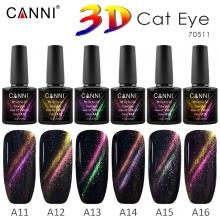Oja Semipermanenta Canni 3D Cat Eye A16