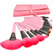 Set 24 Pensule Make-up Roz
