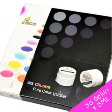 Set 36 Geluri UV Color COCO - 5ml