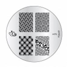 Matrita Metalica Pentru Stampile Unghii Konad M96