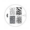 Matrita Metalica Pentru Stampile Unghii Konad M98