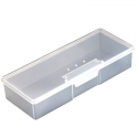 Cutie din plastic depozitare pensule sau pile