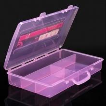Cutie din plastic pentru depozitare decor, pile, pensule