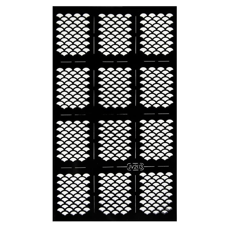 Sablon pentru unghii 3D JV203