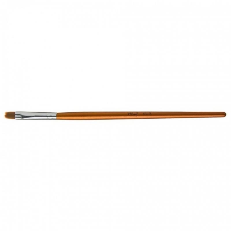 Pensula gel Miley Nr.8 cu varf drept