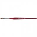 Pensula pentru french din Kolinsky Lila Rossa Professional Nr.4
