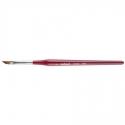 Pensula pentru french din Kolinsky Lila Rossa Professional Nr.6