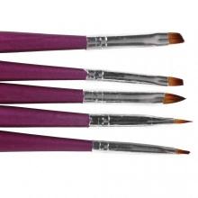Set 5 pensule pictura No. 03