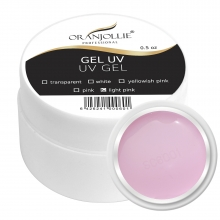 Gel UV 3in1 Oranjollie 30 gr Light Pink
