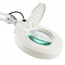 Lampa cosmetica cu lupa,prindere de masa-Neon 5 dioptrii