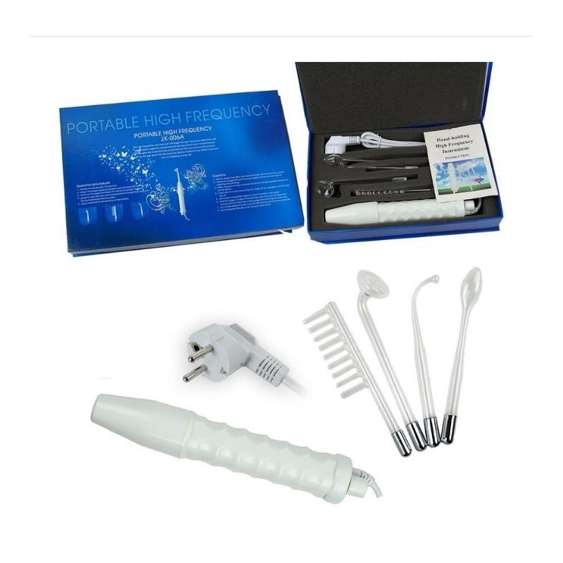 Electroderm Portabil Cosmetica cu 4 Capete Lumina Portocalie