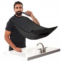 Pelerina pentru tuns barba cu prindere de oglinda