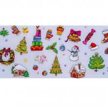 Folie de transfer set 10 Santa's Collection 15
