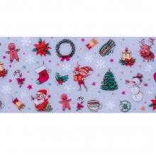 Folie de transfer set 10 Holiday Collection 13