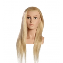 Cap Manechin Par Blond Platinum Natural 100% Louisa OMC, 60 cm, L'Image Germania