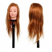 Cap pentru Practica Blond-Auriu H1-6C, 50 cm + Suport Prindere