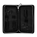 Set Foarfece Olivia Garden SilkCut Pro Matt Black 5.75 inch + 6.35 inch