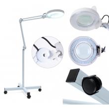Lampa Cosmetica cu Led, Lupa si Roti, 5 Dioptrii - Putere 15 W, Model Nou 2021