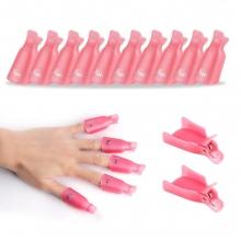 Set 10 Capsule Degete P107 Pink ( clesti/clipsuri )