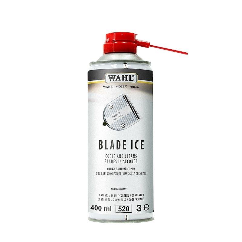 Spray 4in1 Wahl Blade Ice 400ml pentru Racire, Dezinfectare si Lubrifierea Cutitelor