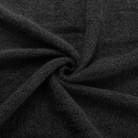 Prosop Negru din Bumbac 50x90 - LLY10