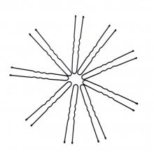 Ace coc negre Lila Rossa Professional 4.5 cm