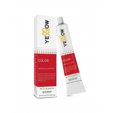 Vopsea de Par Permanenta cu Amoniac Negru Yellow Color 1.0 100ml