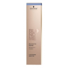 Decolorant si Toner Rose pentru Parul Blond Schwarzkopf Professional, BlondMe Toning Cream, 60 ml